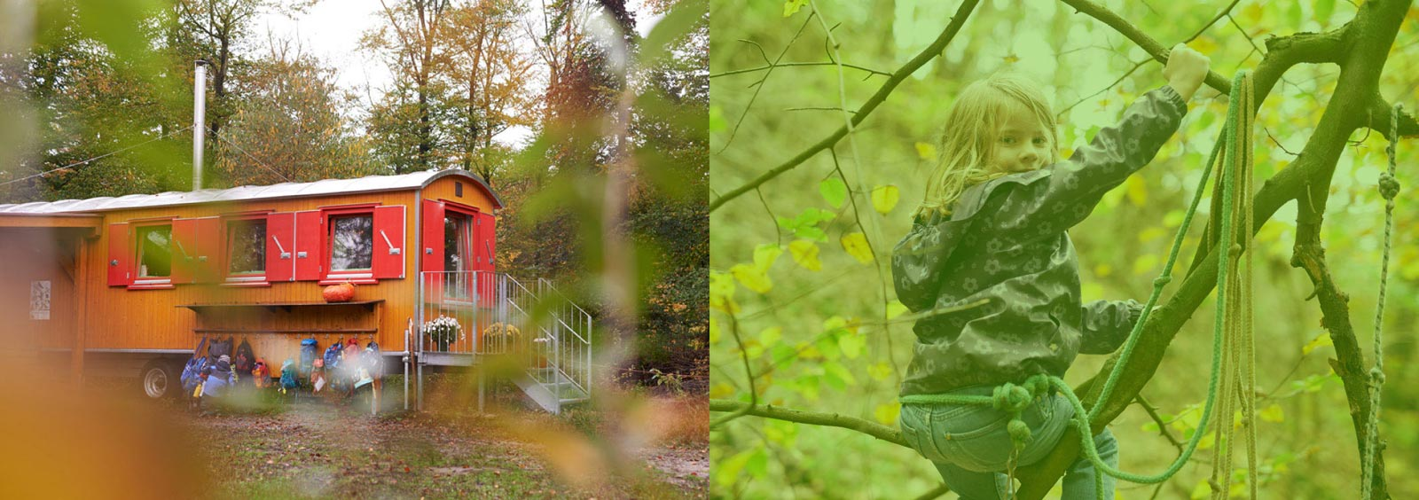 Mit MARTENS wächst ein Waldkindergarten.